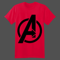 Avengers Symbol  - Softstyle™ youth ringspun t-shirt