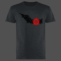 Anti-Possession with Wings - Softstyle™ adult ringspun t-shirt