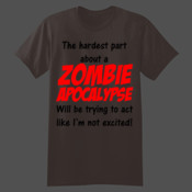 Zombie Apocalypse - Softstyle™ youth ringspun t-shirt